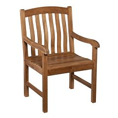 Miller Outdoor Teak Armchair