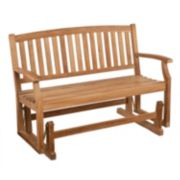 Wilson Outdoor Teak Glider Bench