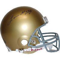 Steiner Sports Notre Dame Lou Holtz Autographed Mini Helmet