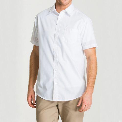 Men's Lee School Uniform Slim-Fit Oxford Button-Down Shirt