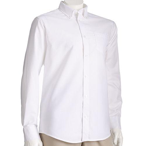 Men's Lee® School Uniform Slim-Fit Oxford Button-Down Shirt