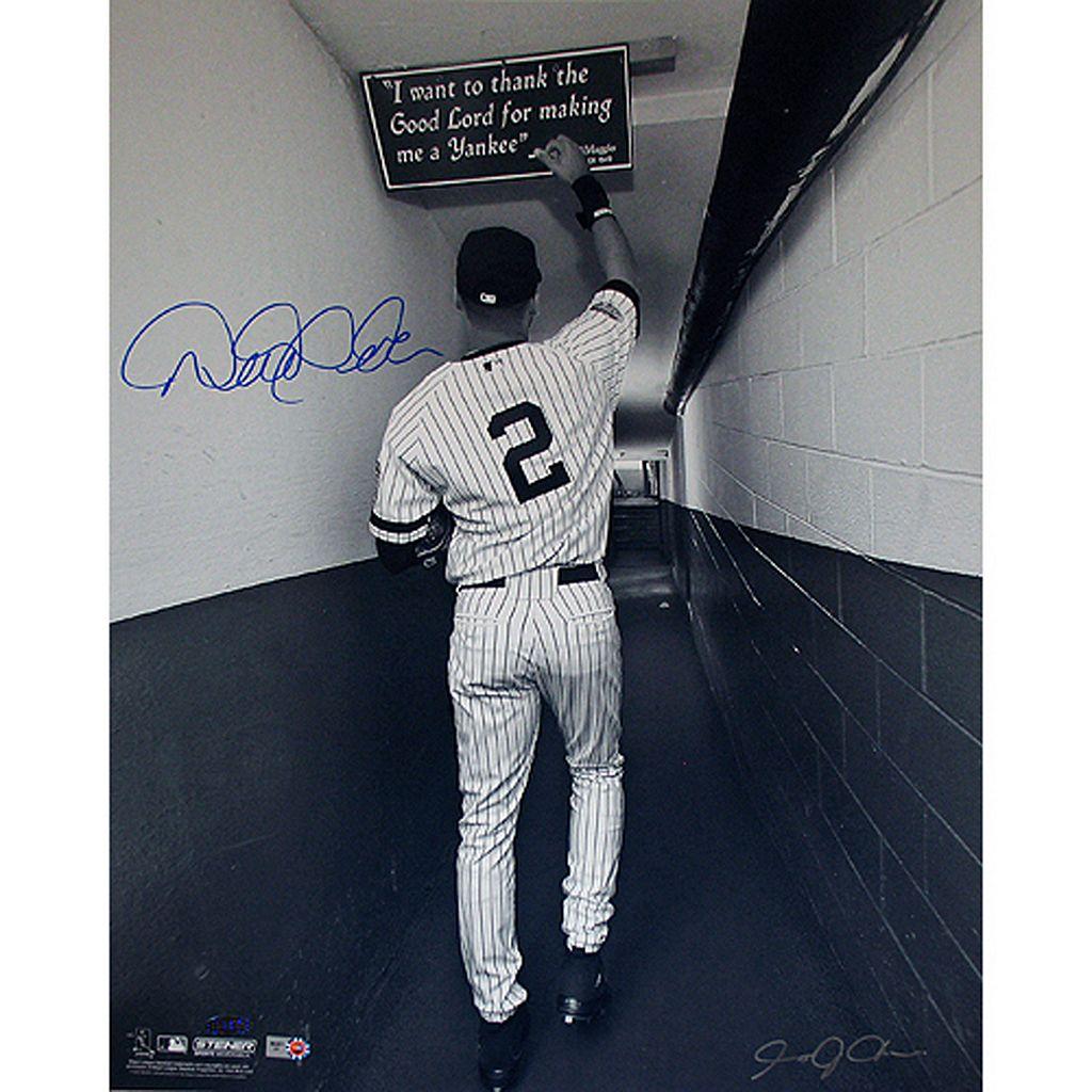Steiner Sports Derek JeterShot In Tunnel At The Original Yankee Stadium16'' x 20'' SignedPhoto