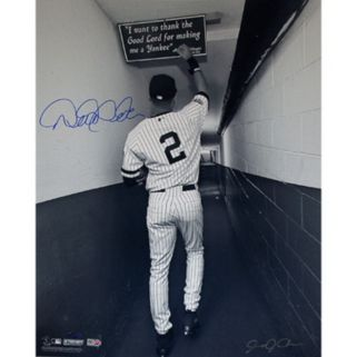 Steiner Sports Derek Jeter Shot In Tunnel At The Original Yankee Stadium 16'' x 20'' Signed Photo