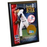 Steiner Sports Derek Jeter New York Yankees 4'' x 6'' Plaque with Game-Day Dirt