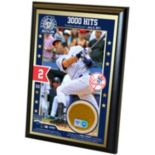 Steiner Sports Derek Jeter 3000th Hit 4'' x 6'' Plaque with Game-Day Dirt