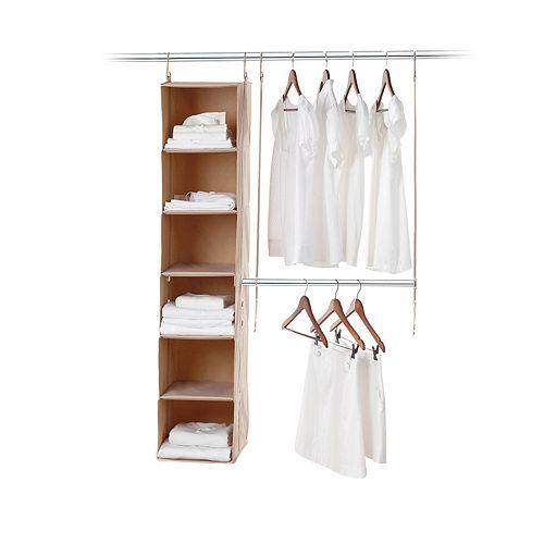 neatfreak closetMAX System 2-pc. Closet Kit