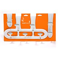 neatfreak Nonslip 3-pc. Over-The-Door Hook Set