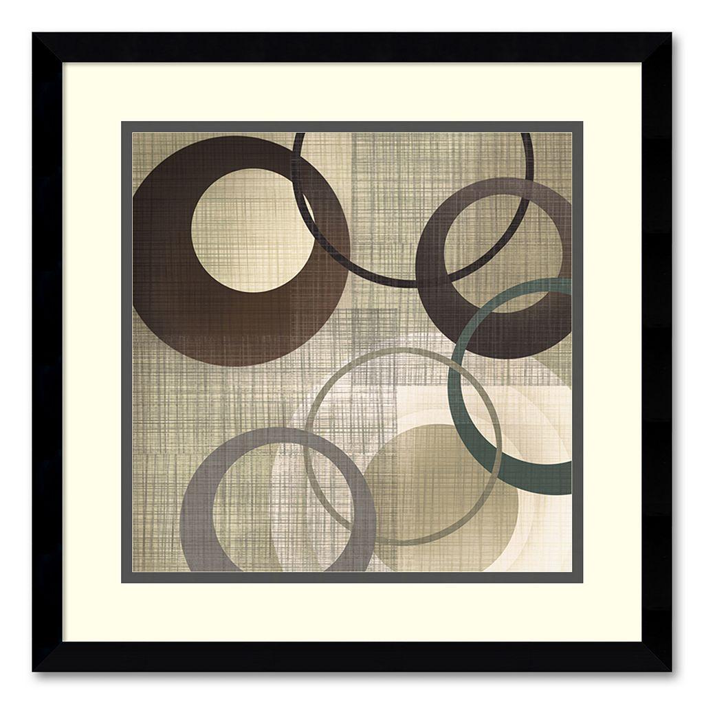 ''Hoops 'n' Loops II'' Framed Wall Art by Tandi Venter