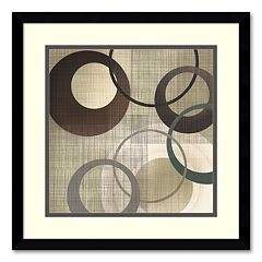 ''Hoops 'n' Loops II'' Framed Wall Art by Tandi Venter