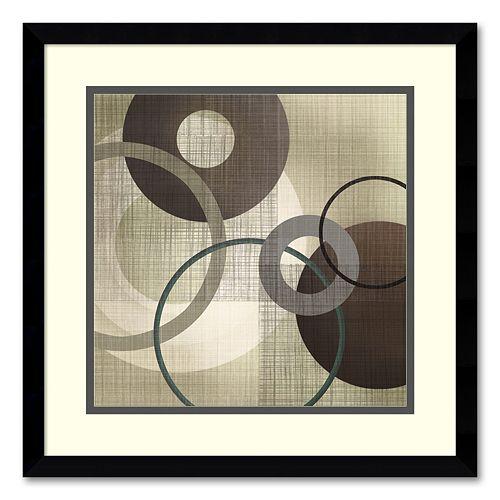 ''Hoops 'n' Loops I'' Framed Wall Art by Tandi Venter