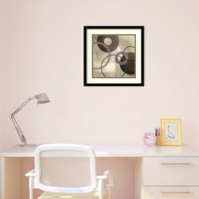 Hoops 'n' Loops I Framed Wall Art by Tandi Venter