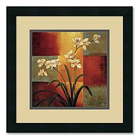 ''White Orchid'' Framed Wall Art by Jill Deveraux