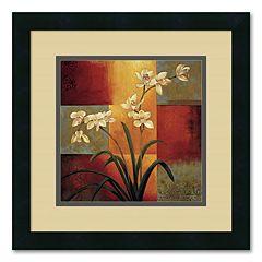 ''White Orchid'' Framed Wall Art by Jill Deveraux