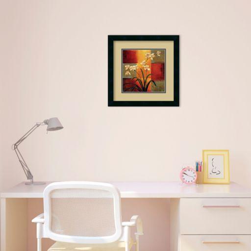 White Orchid Framed Wall Art by Jill Deveraux