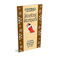 Red-Letter Press 'Stocking Stumpers' Football Book