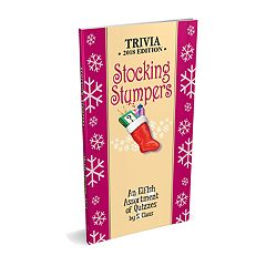Red-Letter Press 'Stocking Stumpers' Trivia Book