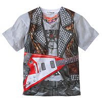 Faux Real Rockstar Graphic Tee - Toddler