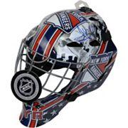 Steiner Sports Henrik Lundqvist New York Rangers Signed Full Size Goalie Mask with Shield Logo