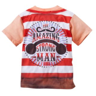 Faux Real Strongman Graphic Tee - Toddler