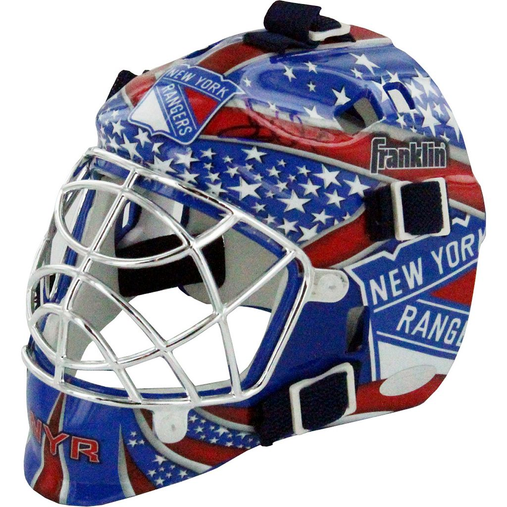 Steiner Sports Henrik Lundqvist New York Rangers Signed Mini Goalie Mask