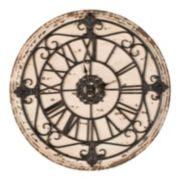 Safavieh Jerry Clock 25-in. Round Wall Clock