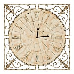 Safavieh Kathleen Clock 27-in. Round Wall Clock