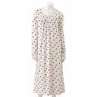 Croft & Barrow® Vertical Pintuck Knit Nightgown - Women's Plus
