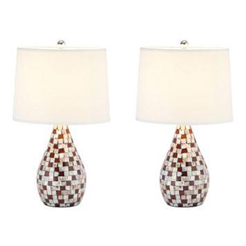 Safavieh Lauralie Capiz Shell Lamp