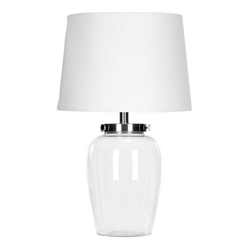 Safavieh Clear Glass Table Lamp