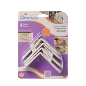 Dreambaby 4-pk. Angle Locks