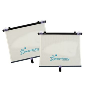 Dreambaby 2-pk. Extra-Wide Car Roller Shades