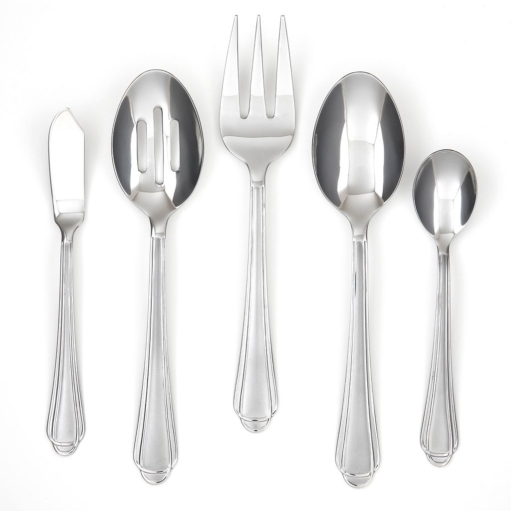 Farberware Tumeric Sand 45-pc. Flatware Set