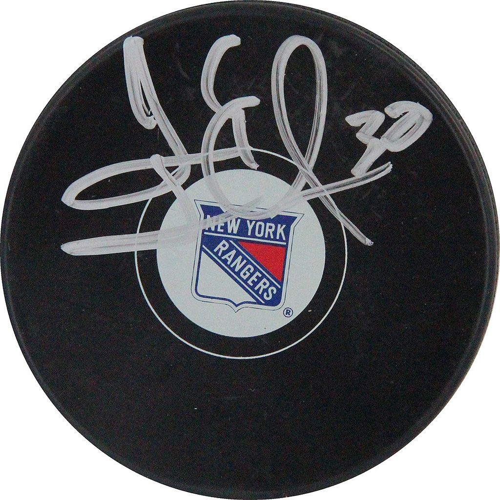 Steiner Sports Henrik Lundqvist New York Rangers Autographed Hockey Puck