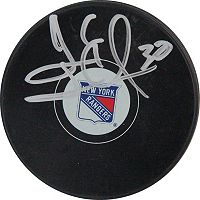 Steiner Sports Henrik Lundqvist New York Rangers Autographed Hockey Puck