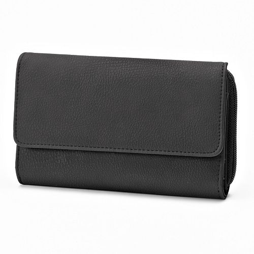 Croft & Barrow® Nuebie Organizer Clutch Wallet