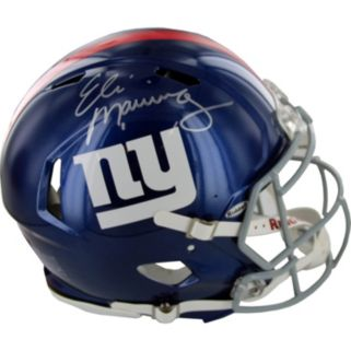 Steiner Sports New York Giants Eli Manning Autographed Full-Size Speed Helmet