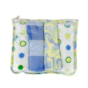 Dr. Seuss Oh The Places You'll Go 4-pk. Burp Cloths by Trend Lab
