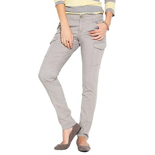 9a679a4c7d6f2 SO® Skinny Cargo Pants - Juniors