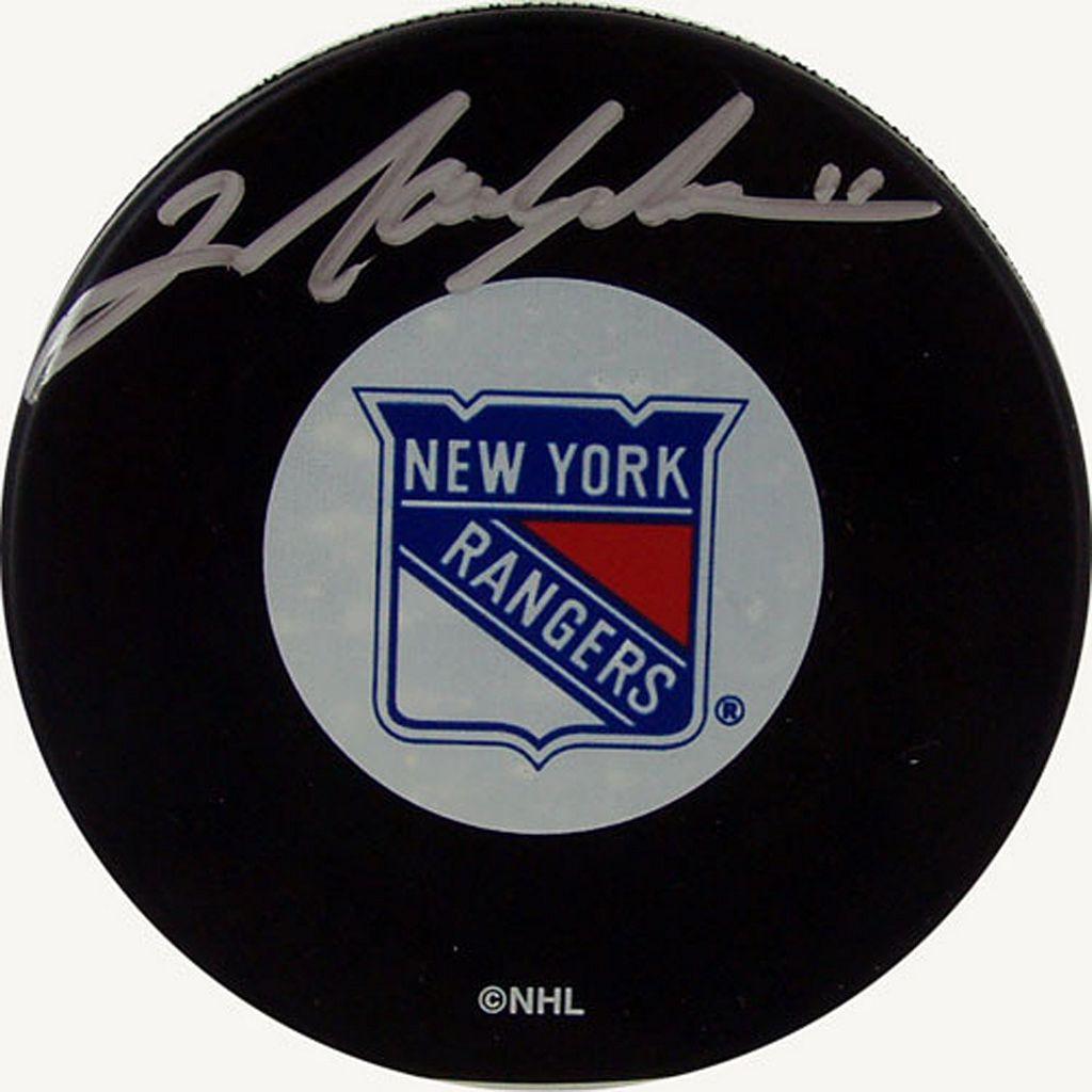 Steiner Sports Mark Messier New York Rangers Autographed Hockey Puck