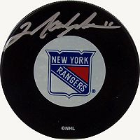 Steiner Sports Mark Messier New York Rangers Autographed Hockey Puck