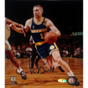 Steiner Sports Chris Mullin Left Handed Drive to Basket 8'' x 10'' Signed Photo