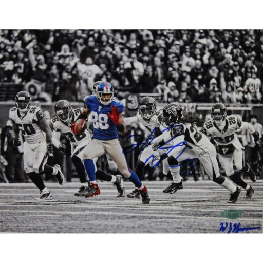 Steiner Sports Hakeem Nicks Catch and Run vs Falcons 8'' x 10'' Signed Photo