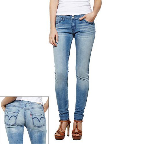 390f7091 Women's Levi's 529 Curvy Skinny Jeans