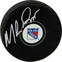 Steiner Sports Mike Richter New York Rangers Autographed Hockey Puck
