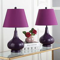 Safavieh Cybil Double Gourd 2 pc Table Lamp Set