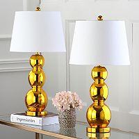 Safavieh Jayne Three Sphere 2-pc. Glass Table Lamp Set