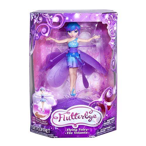 Flutterbye Fairies Flying Fairy Stardust Doll