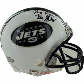 Steiner Sports New York Jets Rex Ryan Autographed Mini Helmet