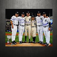 Steiner Sports Yankees Final Game at Yankee Stadium Perfect Game Battery Mates 16'' x 20'' Signed Photo