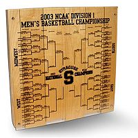 Steiner Sports Syracuse Orange 2002-2003 12'' x 12'' Engraved Bracket